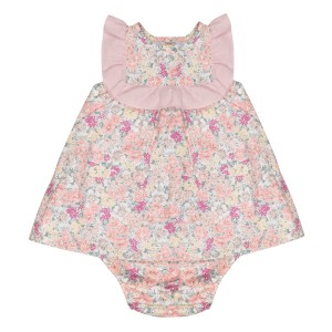 Momma by Los Encajeros Formentera Dress & Bloomer Set