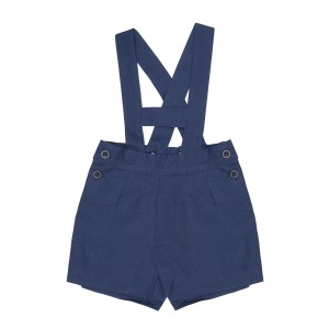 Momma by Los Encajeros Avila Short in Blue