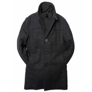 Appaman Coat City Black houndstooth