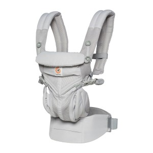 Ergobaby 360 Cool Air Carrier in Pearl Grey