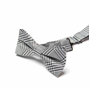 Appaman Bot Tie Houndstooth Plaid