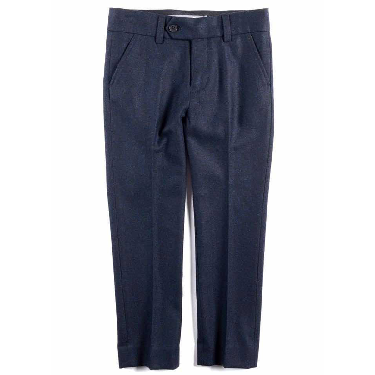 Appaman Tailored Wool Navy Pant