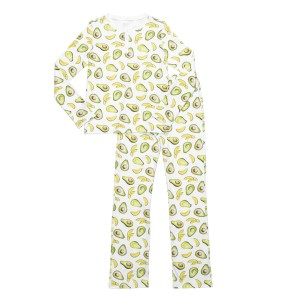 Hart + Land Women's PJ Set in Avocado Print