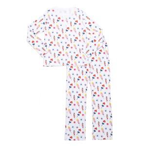 Hart + Land Women's PJ Set in Rocket Flare Print
