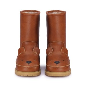 Donsje Wadudu Lining Bear Boot in Cognac