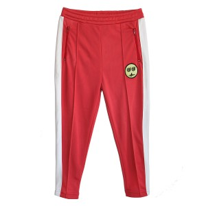Bandy Button Diggy Red Jogging Pant