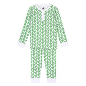 Brai PJ Set in Matcha Monkey