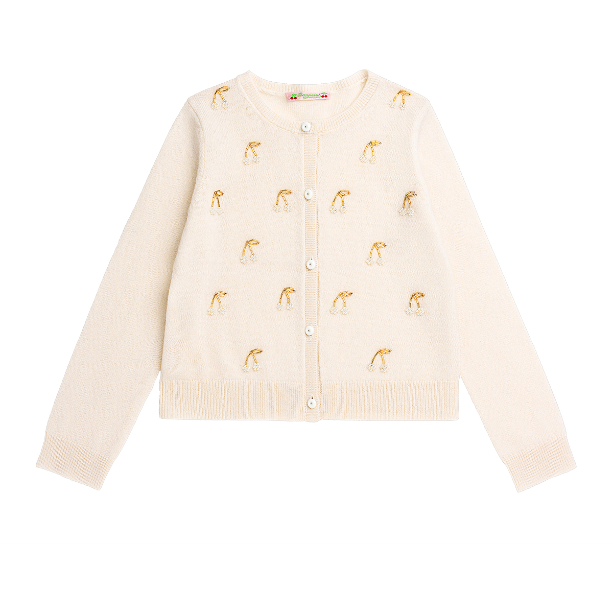 Bonpoint embroidered cardigan