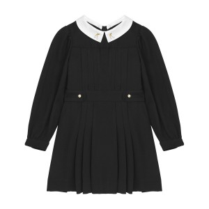 Bonpoint couture collar dress