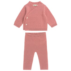 Bonpoint Cashmere Two Piece Set in Rose