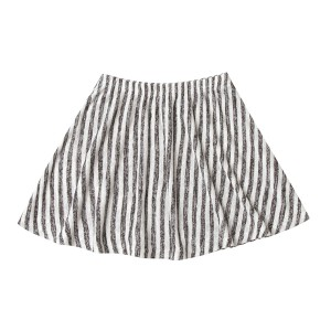 Rylee + Cru Striped Mini Skirt