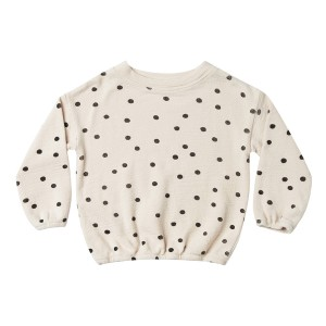 Rylee + Cru Dot Pullover Sweater