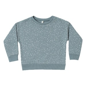 Rylee + Cru Snow Sweatshirt in Dusty Blue