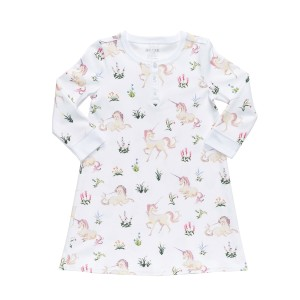 Hart + Land Night Dress in Unicorn Tapestry Print