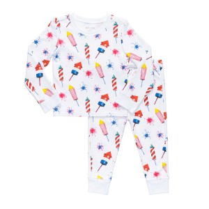 Hart + Land PJ Set in Rocket Flare Print