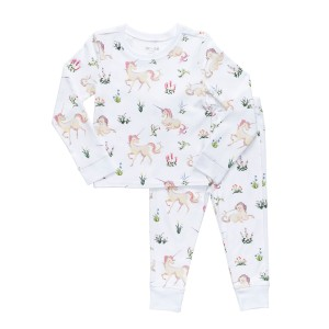 Hart + Land PJ Set in Unicorn Tapestry Print