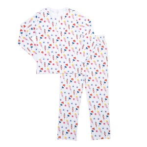 Hart + Land Men's PJ Set in Rocket Flare Print