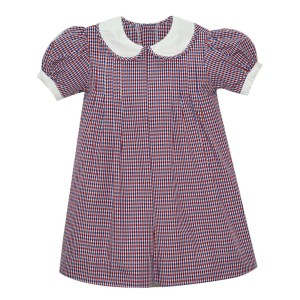 Lullaby Set Red & Navy Plaid Dress