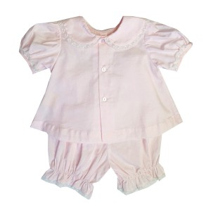 Lullaby Set Top & Diaper Cover set in Pink