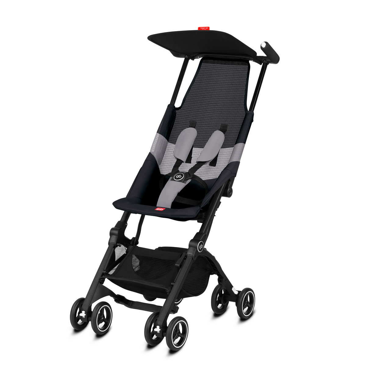 GB Pockit Air All Terrain Black Grey Stroller