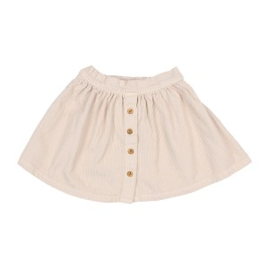 Buho Emma Corduroy Skirt in Dust Rose