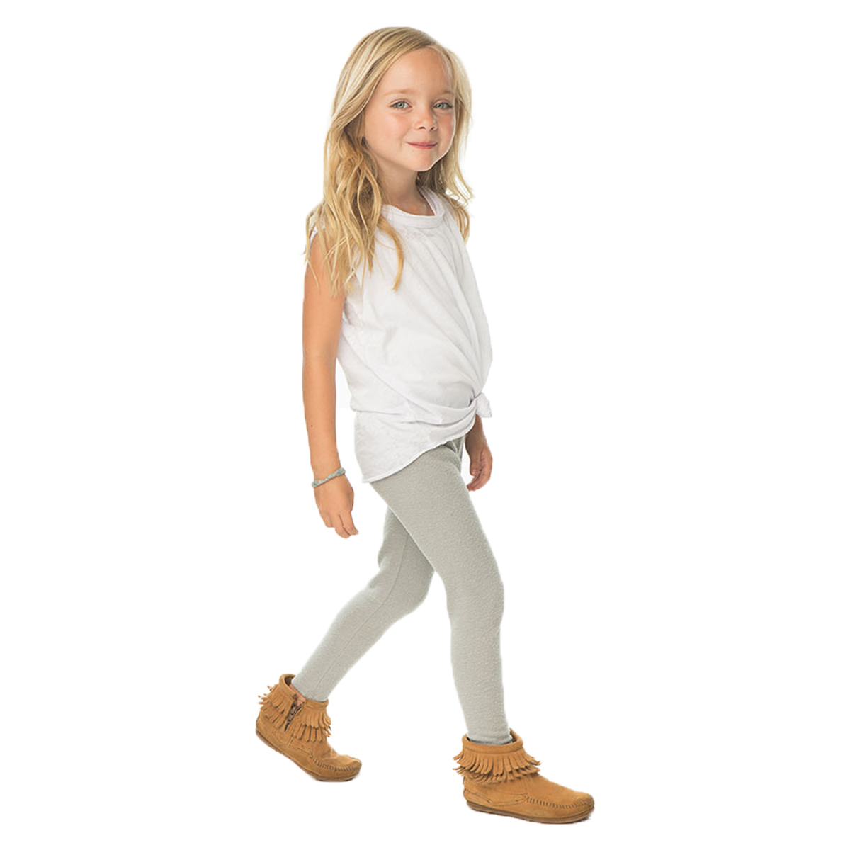 Chaser Classic Legging in Heather Grey