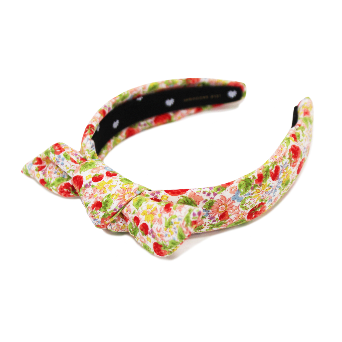 Lele Sadoughi Petite Knotted Headband in Exclusive Strawberry Print