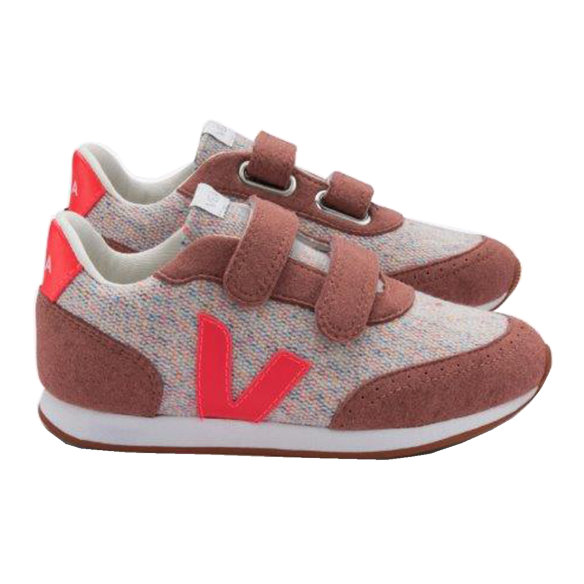 Veja Small Arcade Flannel Cloudy Rose shoe