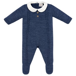 Paz Rodriguez Orion Romper in Navy