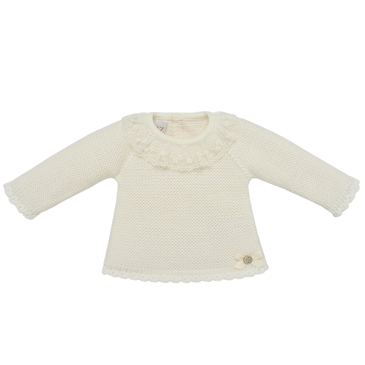 Paz Rodriguez Paz Knit Sweater in Crudo