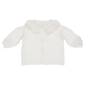 Poeme & Poesie Long Sleeve White Blouse