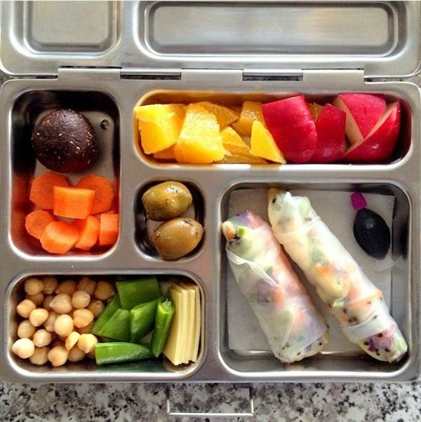 Kids Rice Paper Roll Lunch