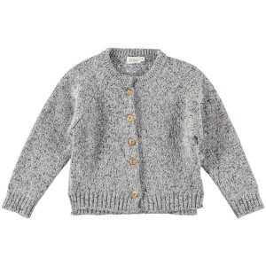 Buho Karine Sweater in Stitch Grey
