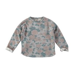 Buho Sweater Rose Floral