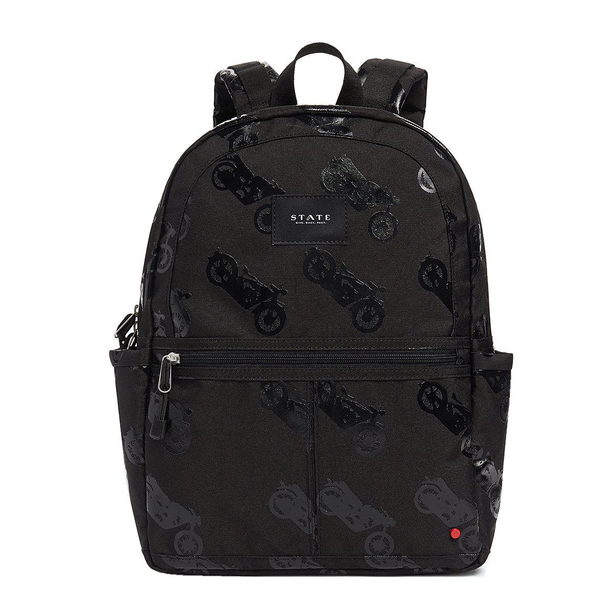 State Bags Kane Backpack in Motorcycle Black