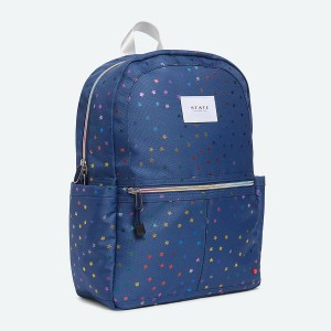 State Bags Kane Backpack in Rainbow Stars