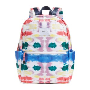 State Bags Kane Backpack in Rainbow Tie Dye