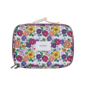 State Bags Rodgers Lunch Box in Ikat Floral