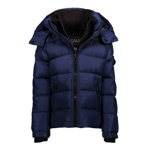 SAM NYC Boys Matte Glacier Coat in Navy