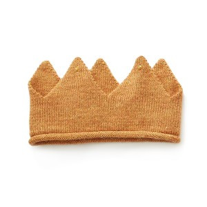 Oeuf Knit Crown in Gold