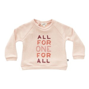 Oeuf All For One Sweater in Light Pink