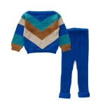 OeufAW19SweaterChevronElectricBlue2