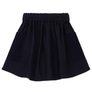 Bonton Navy Skirt