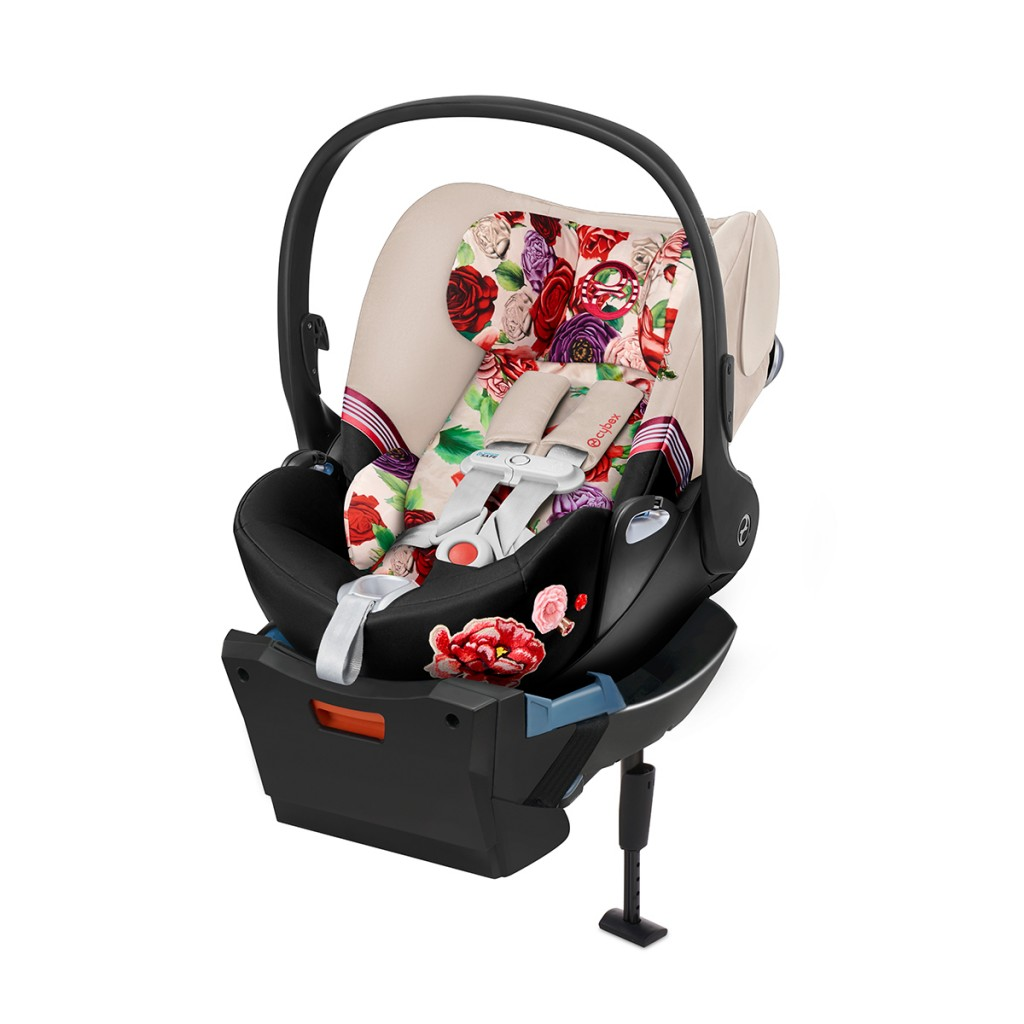 Cybex Cloud Q Car Seat in Light Spring Blossom