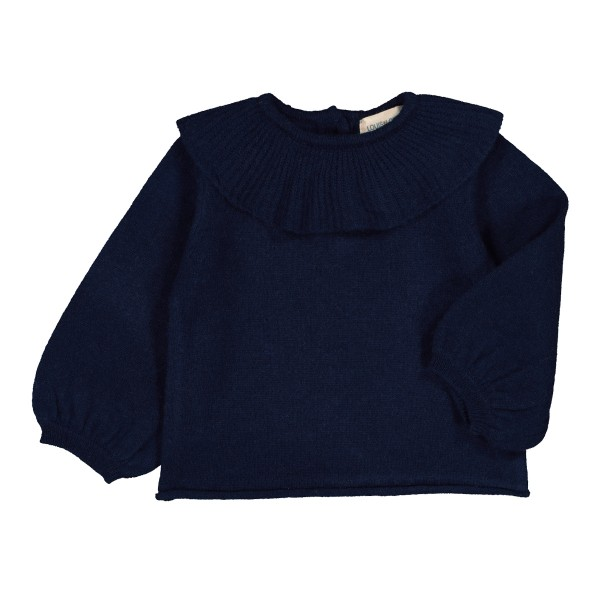 LouisLouiseAW19SweaterAureleBabyNavy2
