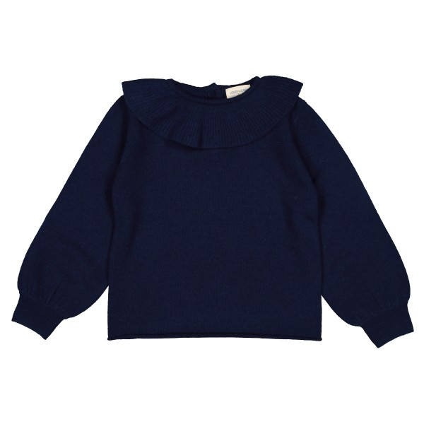LouisLouiseAW19SweaterAureleKidNavy1