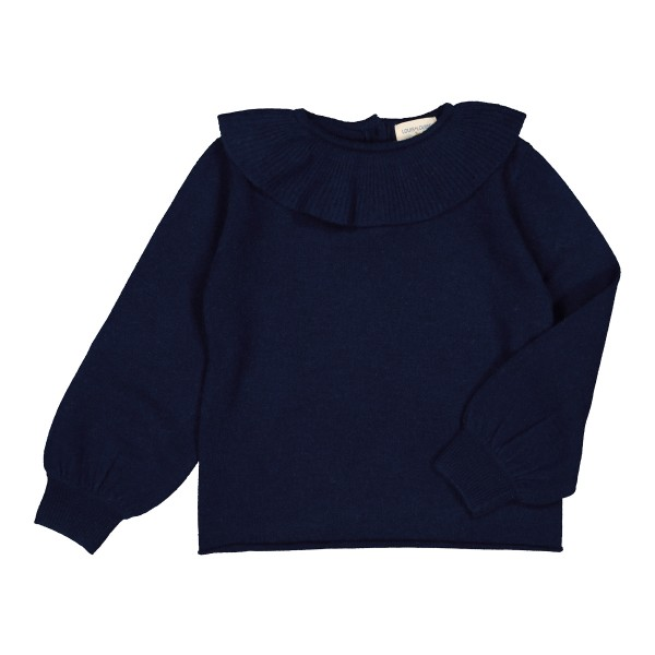 LouisLouiseAW19SweaterAureleKidNavy2