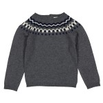 LouisLouiseAW19SweaterHenriKidGrey1