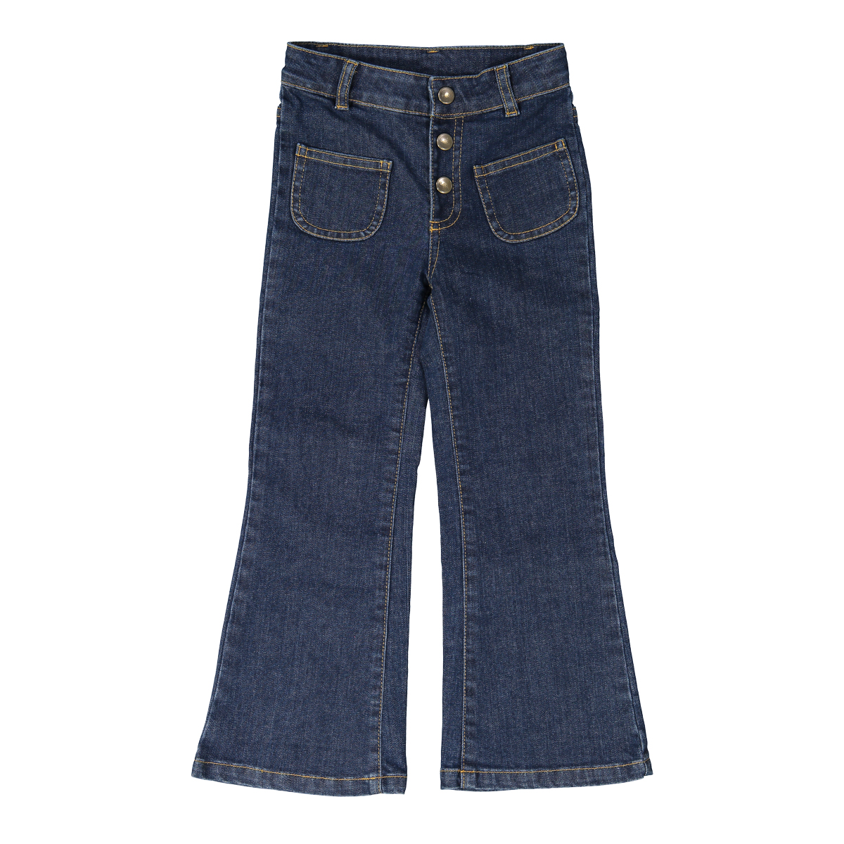 Louis Louise Christie Trouser in Blue Denim
