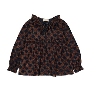 Louis Louise Lauraine Tunic in Exotic Flower Print